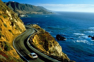 Retracing Jack Kerouac's footsteps: Casey Stoner recommends taking the coastal road from Monterey to Big Sur.