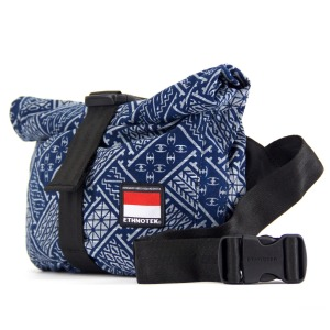 17. Travel beautifully with this cyclo travel sling from small start-up Ethnotek. Their black base bags are ...