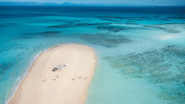 Vlasoff Cay, Queensland. The Great Barrier Reef has dozens of tiny specks on the map that are usually only accessible to ...