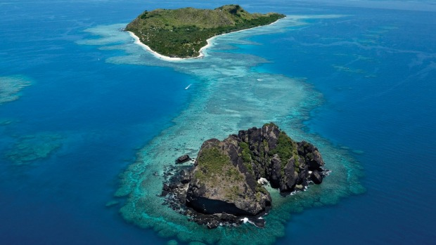 Vomo Lai Lai, Fiji. The Vomo resort does well on privacy, but the islet (foreground) offers true seclusion and can be ...