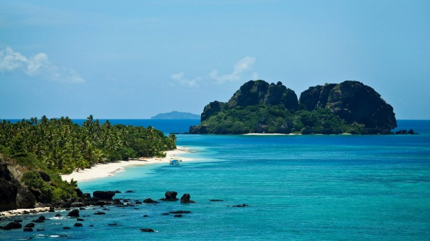 Vomo Lai Lai, Fiji. The Vomo resort does well on privacy, but the islet (rear) offers true seclusion and can be reserved ...