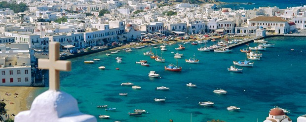 Mykonos, the Cinderella of the Aegean.