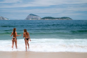 Ipanema Beach in Rio de Janeiro, Brazil. Bookings to Brazil soared 95 per cent prior to the World Cup.
