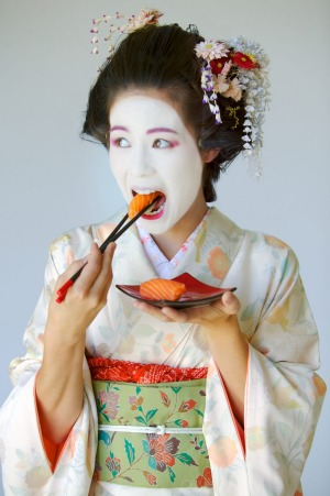 When it comes to beautiful food, it's Japan first, daylight second.