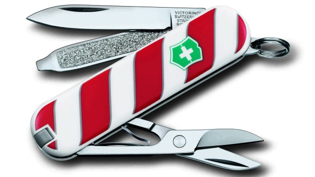 1. Slice your stollen or carve up the Kris Kringle with the new, oh-so-Christmassy, Swiss Classic Army Knife, the ...