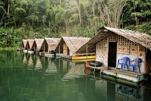 Khao Sok National Park, Thailand. The accommodation is an experience in itself. Fast-track to Putawan floating huts, 32 ...