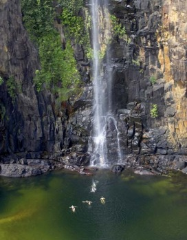 Jatbula Trail, Northern Territory The trail, which meanders along stone country (the Arnhem Land escarpment from ...