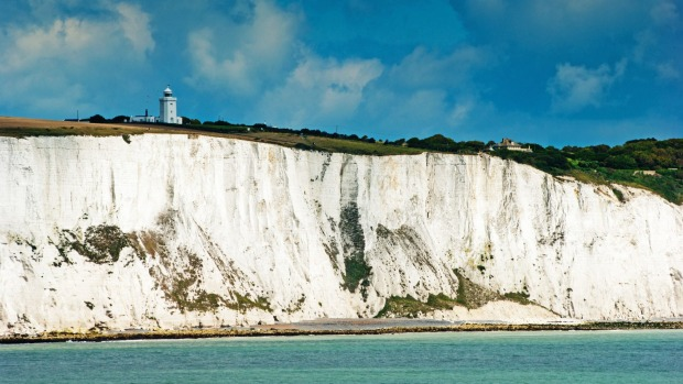 """White cliffs of Dover: """"White cliffs? More like dingy brown"""""""