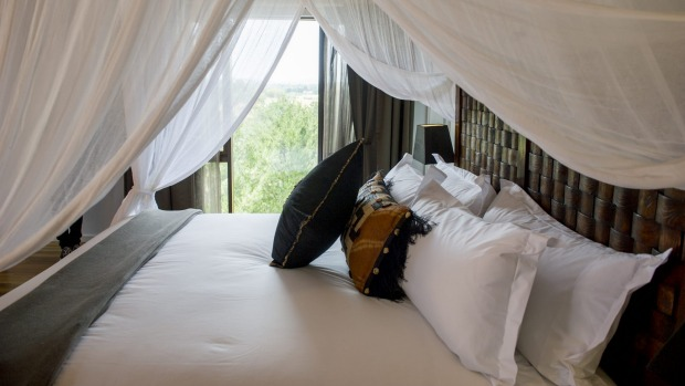 Jamala Wildlife Lodge: A room in the Ushaka Lodge.