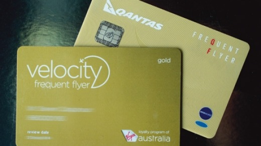 Make the most of Qantas and Virgin Australia's frequent flyer schemes.
