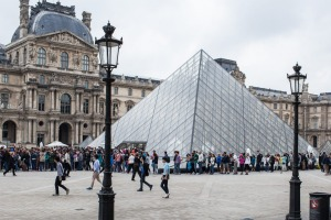 Reducing the waiting time for entry to the Louvre is one of the new director's plans.