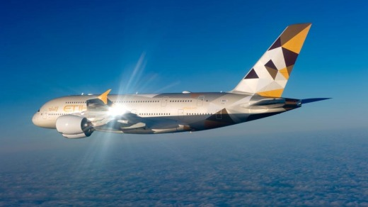 The first Etihad A380 superjumbo flight will take off on December 27.