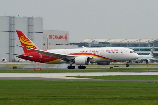 China's largest privately-owned airline, Hainan Airlines, has livery that evokes elements of China's culture and ...