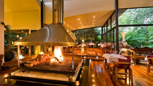 Pethers Rainforest Retreat: From the outside, the treehouse villas don't look like much – just corrugated sheds. But ...