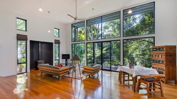 Pethers Rainforest Retreat : From the outside, the treehouse villas don't look like much – just corrugated sheds. But ...