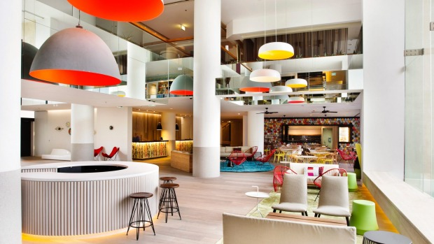 QT: The QT's relentlessly perky and design-heavy take on the traditional Surfers Paradise tower resort is a high energy ...