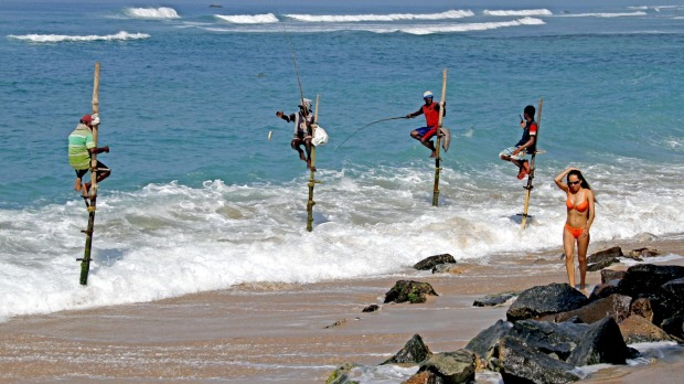Sri Lanka is becoming increasingly popular with Australian tourists.