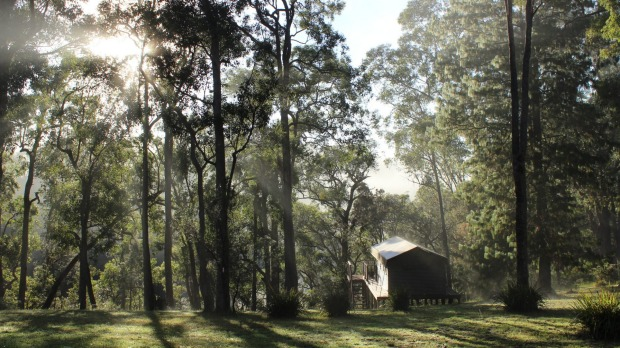 The Escape, Bawley Point, NSW: Glamps seem to be getting smaller, more intimate. There are just two off-grid luxury ...