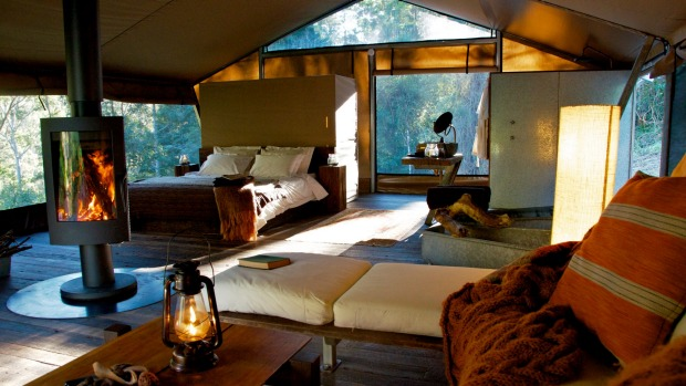 Nightfall Wilderness Camp, Lamington National Park, Qld: Only six guests at a time can stay at this carbon-neutral ...