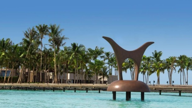 Exotic haven: The Cheval Blanc Randheli is located in the Noonu Atoll.
