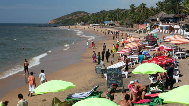 Anjuna Beach in Goa, India: The location of Asia's most outrageous New Year's party.