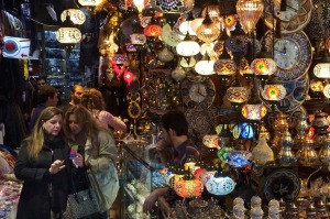 Get lost amongst it: The Grand Bazaar.