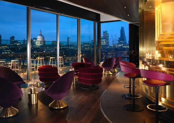 2 MONDRIAN HOTEL AT SEA CONTAINERS, LONDON: Hunkered in the artsy, entertainment South Bank right on the Thames, the ...