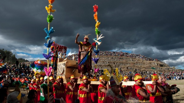 Inti Raymi, Peru: Cusco, the mountain city and former seat of the Incan empire, has its former glory restored once a ...