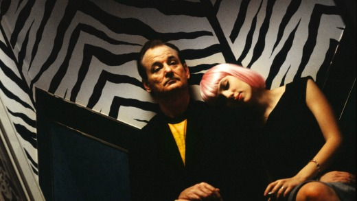 <i>Lost In Translation</i> starring Bill Murray and Scarlett Johansson.