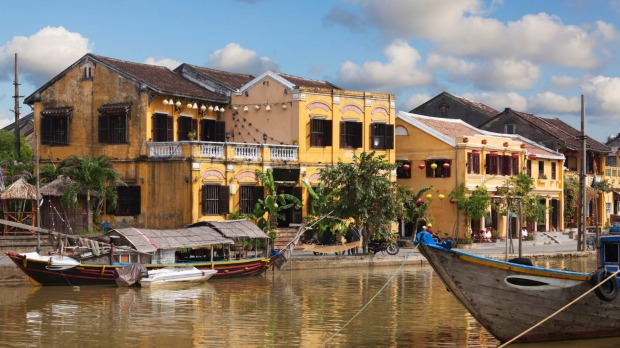 Get a suit made at picturesque Hoi An.