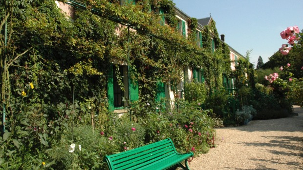 MONET'S HOUSE AND GARDEN, GIVERNY, FRANCE: Impressionist painter Claude Monet lived at Giverny for 43 years and today ...