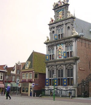 "HOORN, NEAR AMSTERDAM: Hoorn played an important part in shipping history -€"" it was a base for the Dutch East India ..."