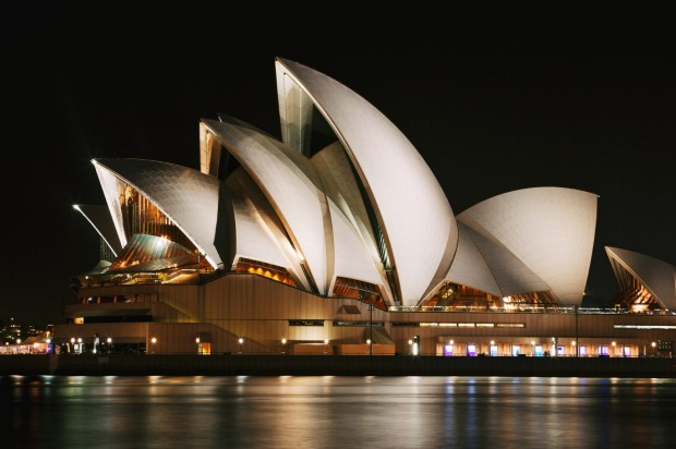 "Sydney Opera House: ""Looks better on TV"""
