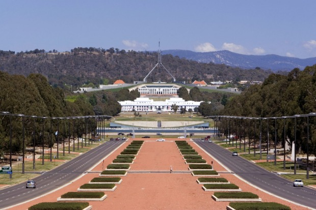 """Parliament House, Canberra: """"Bomb shelter"""""""
