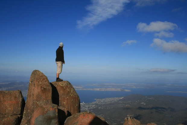 "Mt Wellington, overlooking Hobart, Tasmania: ""Absolutely the most horrible drive"""