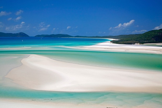 "Whitehaven Beach, Queensland: ""OK to look at for 5 minutes"""
