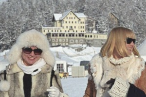 The happiest place on earth: Despite freezing cold temperatures, the Swiss are a happy bunch.