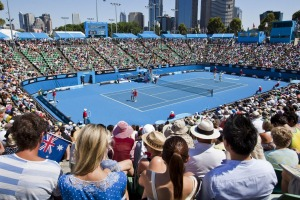 The Australian Open at Melbourne Park gets under way this month.