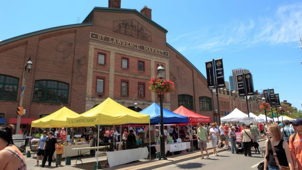 St Lawrence Market in Toronto.