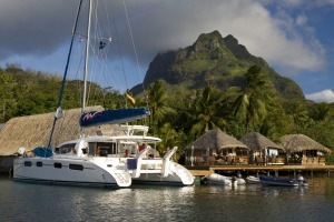 On the ocean wave: Moorings, Tahiti, is the starting point for an sailing adventure.