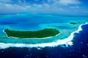 Aitutaki, Cook Islands. A place so beautiful it could inspire mutiny.