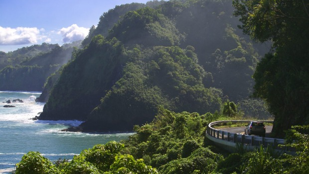 There are 620 curves along Maui's Hana Highway.