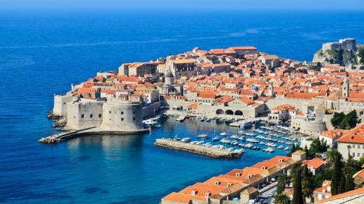 Dubrovnik, established in the seventh century, was variously a maritime force or vassal city-state.