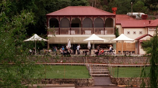 Elegant: The historic Studley Park boathouse adds a sense of occasion to any outing.