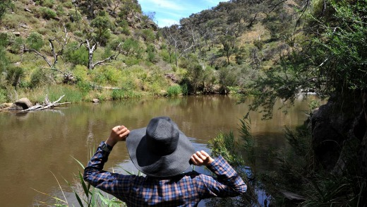 Day trip: Werribee Gorge is a manageable 62 kilometres from the city.