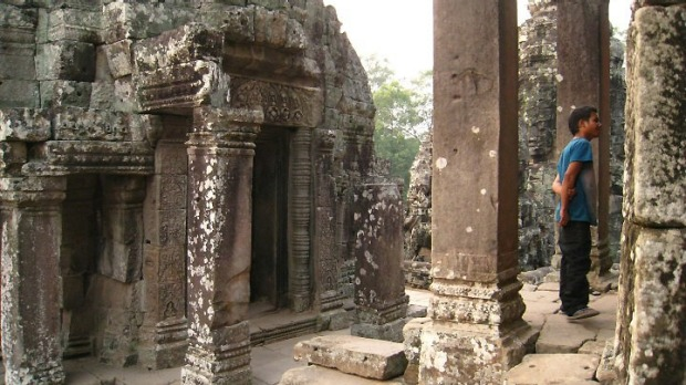 Angkor Wat, Cambodia:This ancient ruin is one of the highlights of world travel.