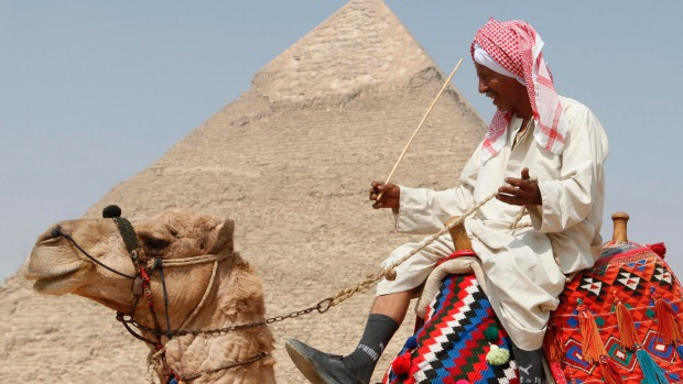 Great Pyramid of Giza, Egypt: It's a shock when you realise that this ancient wonder of the world has all but been ...