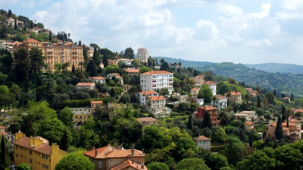 Green Grasse: The hilltop town is only 30 minutes from Cannes.