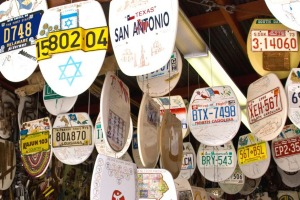 One for the bucket list: The Toilet Seat Art Museum in San Antonio, Texas.