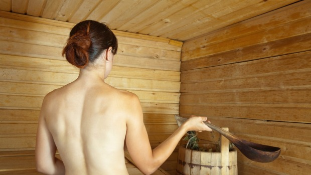Any chance to get naked in a sauna should be jumped at.